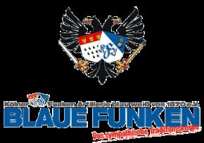 Logo Blaue Funken