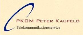 Logo PKom Peter Kaufeld B